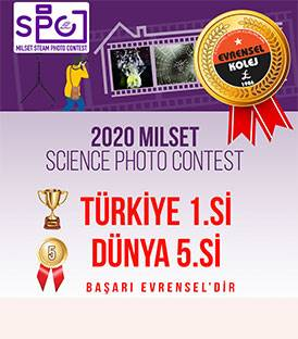 2020 MILSET SCIENCE PHOTO CONTEST'DE EVRENSEL YİNE ŞAMPİYON
